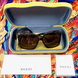 GUCCI BAMBOO COLLECTION SUNGLASSES